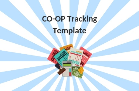 Co-op Marketing Tracking Template | THAT Agency