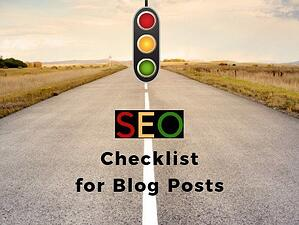 Act Now to Get Your FREE Copy of the SEO Checklist for Blog Posts from THAT Agency